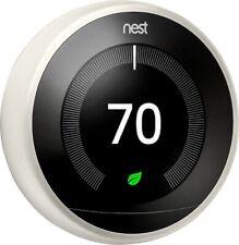 Nest 3rd Generation Learning White Programmable ThermostatT3017US