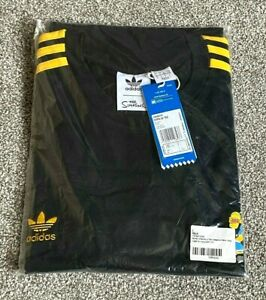 Limited Edition NEW + Tags Adidas Originals x The Simpsons 3 Stripe T Shirt