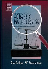 Introduction to Forensic Psychology: Issues Crime Justice, Arrigo, Shipley 2E HB