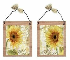 Paris Pictures Yellow Sunflowers France Bed Bath Wall Hangings Bathroom Plaques