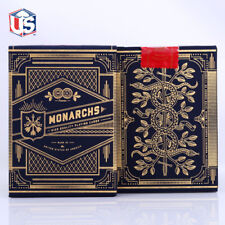 Blue Monarchs Theory 11 Playing Cards Deck Magic Tricks Collection Poker Size