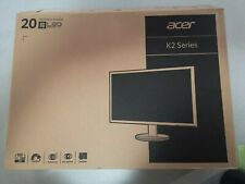 "Acer K202HQL 20"" (19.5"" viewable) (1600 x 900) Monitor New In Box K2 Series Led"