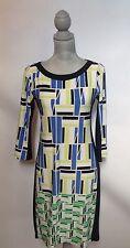 London Times Geometric Dress - Multi-color - Size 4
