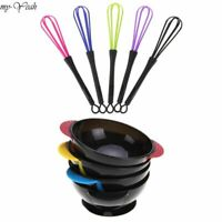 Hair Dye Mixing Bowl Brush Color Comb Mixing Tool Professional Salon Stirrer New