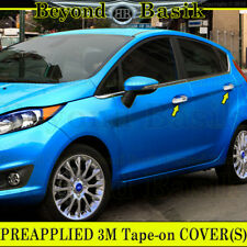 2011 12 13 14 15 16 2017 FORD FIESTA TRIPLE Chrome Door Handle COVERS W/smart Ky