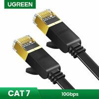 Ugreen 1M STP CAT7 Gigabit Ethernet Cable RJ45 Network LAN Patch Cord Flat Cable