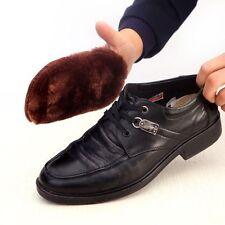 Cloth Polishing Shoe Brush Imitation Wool Shoes Polishing Cleaning Gloves