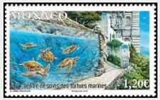 Timbre Reptiles Tortues Monaco ** année 2018 lot 29894