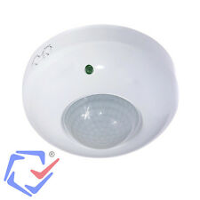 Detector de presencia Sensor de movimiento PIR Interior Interruptor Techo 360º