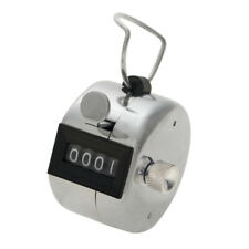 GOGO 4 Digits Mechanical Tally Counter Hand Manual Clicker with Finger Loop