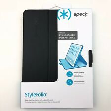 Speck STYLEFolio ipad pro 9.7 inch Air 1 2 Case Stand black Cover Leather