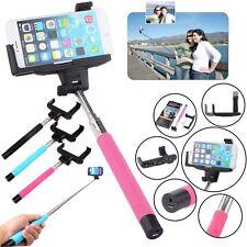 Bluetooth Selfie Stick Shutter Extendable Handheld Monopod Holder for Smartphone