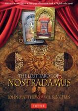 THE LOST TAROT OF NOSTRADAMUS - MATTHEWS, JOHN/ KINGHAN, WIL/ MATTHEWS, CAITLIN