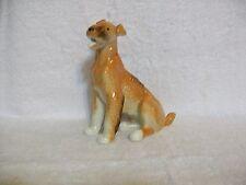 Vintage Lomonosov USSR Airedale Terrier Dog