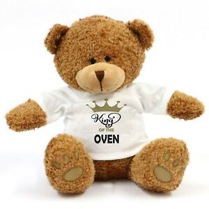 King Of The Oven Teddy Bear - Gift, Kitchen