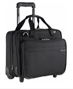 Briggs & Riley Baseline BLACK Carry-On ROLLING CABIN Luggage Br212X-4