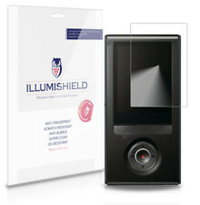 iLLumiShield Phone Screen Protector w Anti-Bubble/Print 3x for Sony Bloggie HD
