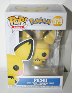 Funko Pop! Pokemon PICHU #579 Pop! Vinyl Figure NEW BUT DAMAGED BOX