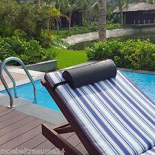 Kopfpolster für Liegen Deckchair Relaxsessel Gartenstuhl Gartenmöbel waschbar