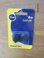 19mm Black Bra Extender Strap - Korbond Women Underwear Accessory