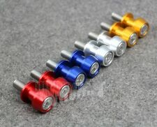 8mm CNC Swing Arm Sliders Spools For Suzuki GSXR 600 750 1100 1300 4Color