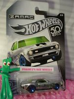 '68 COPO CAMARO chevy #8 Walmart ZAMAC 50TH ANNIVERSARY✰green✰2018 Hot Wheels