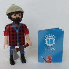 Playmobil Mystery Series 15 Boys  Woodsman   #70025   New   2019