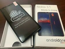 New Nokia 3.1 TA1140 32GB (Latest Model) AT&T Android Smart Phone  - Black Color