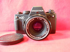 PRAKTICA BX20 Spiegelreflexkamera Objektiv Prakticar MC Pentacon 1,8/50mm