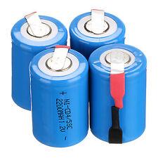 4 X 1.2V 2200mAh SubC Nicd/NiMh 4/5 SUB C batteria ricaricabile