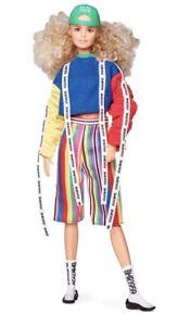 Barbie BMR1959 Doll Sweatshirt Striped Shorts Barbara Millicent Roberts Fashion