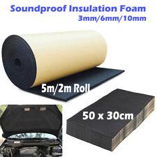 50cm/2m/5m Sheet Roll Car Soundproof Noise Deadening Insulation Closed Cell Foam