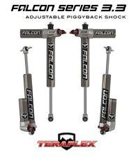 """TeraFlex Falcon 3.3 Front & Rear Shocks for 0""""-2"""" Lift on 07-18 Jeep JK 2 Door"""