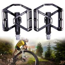 2x Bicycle Pedal Aluminum Alloy Mountain Bike Road Cycling Flat Platform Sealed