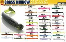 Leurre Ecogear Grass Minnow M 64mm par 10 couleur:010