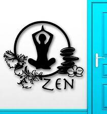 Wall Stickers Vinyl Decal Zen Meditation Yoga Health Mantra Enlightenment ig1434