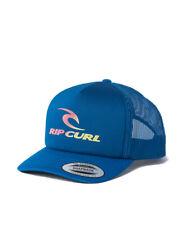 RIP CURL MENS TRUCKER CAP.The Surfing Company BLUE BASEBALL SNAPBACK HAT S20 J4