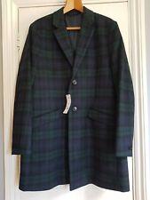 Burton tartan check coat large