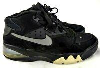 Nike Air Force Max 2013 Charles Barkley 555105-002 Men Sz 9 Black Sneaker 227-12