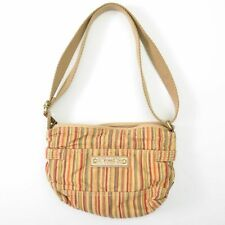 Fossil Bag Tote Shoulder Canvas 10X8 Womens