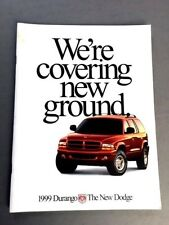 1999 Dodge Durango Original 32-page Big Sales Brochure Catalog Book