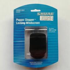 Shure A2WS-BLK Locking Foam Windscreen for SM-57,545 Series in Black