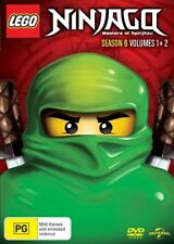 LEGO Ninjago - Masters of Spinjitzu Season 6 : Vol 1-2 (DVD, 2018) NEW & SEALED