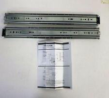 ACCURIDE C 9301-E24D DRAWER SLIDE, SOFT CLOSE, 24 IN. L, PK2