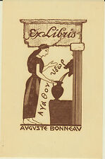 EX-LIBRIS AUGUSTE BONNEAU - 20ème siècle.