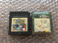 Mega Man Xtreme 1+2, I+II (Nintendo Game Boy Color LOT) Carts Only - Acceptable