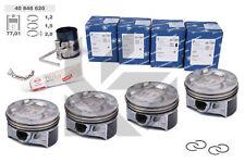 4x Kolben Reparatursatz 40846620 +0,50 Ø 76,51 mm SKODA VW AUDI SEAT 1,4 TSI
