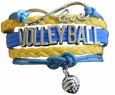 - Gift For Teams & Players Volleyball Bracelet - Girls Volleyball Jewelry