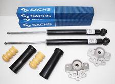 2x Sachs Stoßdämpfer hinten + Domlager + Staubschutzsatz Opel Corsa D TOP NEU