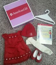 American Girl retired scarlet and snow outfit new in box